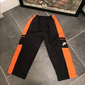 Nike Athletic Mesh Lined Track Pants SZ 4T